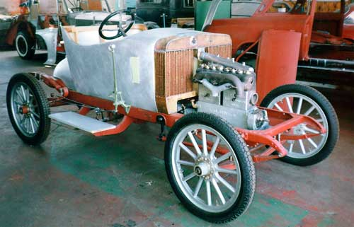 1910 Arrol Johnston radiator